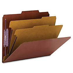 Smead PressGuard Classification Folders with SafeSHIELD