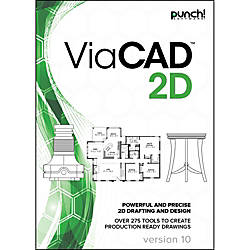 Punch ViaCAD 2D v10 for Windows