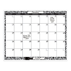 ie Monthly Planner Dry Erase Board