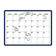 ie Monthly Planner Magnetic Dry Erase