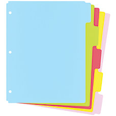 Wilson Jones Index Dividers 8 12