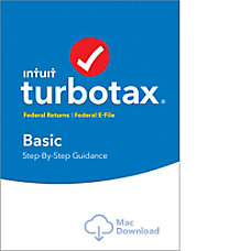 TurboTax Basic Fed 2016 Mac Download