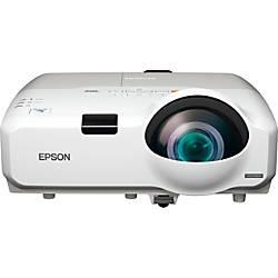 Epson PowerLite 425W WXGA 3CLD Projector
