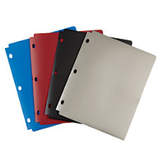 Wilson Jones Snapper Folder Assorted No
