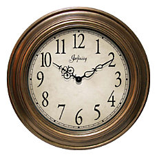 Infinity Instruments Atheneum Wall Clock 24