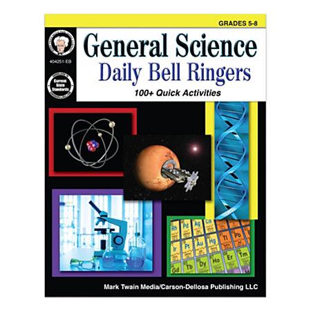 Mark Twain Media General Science Daily Bell Ringers Grades ...