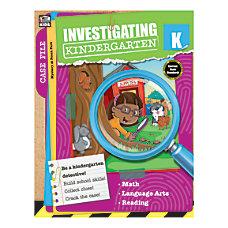 Thinking Kids Investigating Kindergarten Grade K