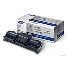 Samsung MLT D119S Black Toner Cartridge