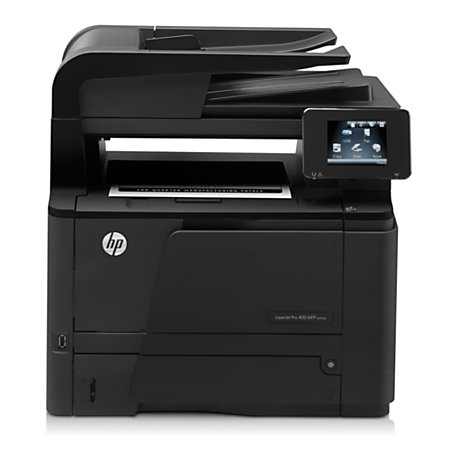 hp laserjet pro 400 mfp m425dn monochrome laser all in one printer copier scanner fax by office. Black Bedroom Furniture Sets. Home Design Ideas