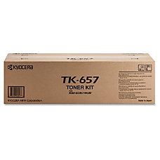 Kyocera TK657 Black Toner Cartridge Laser