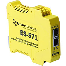 Brainboxes Es 571 Industrial Isolated Ethernet