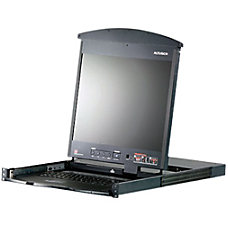 Aten Dual Rail Rackmount LCD