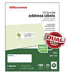 Office Depot Brand 100percent Recycled Mailing