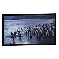 AccuScreens Fixed Frame Projection Screen