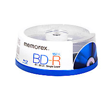 Memorex Blu ray Disc Recordable Media
