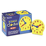 Learning Resources Geared Clocks 4 Set