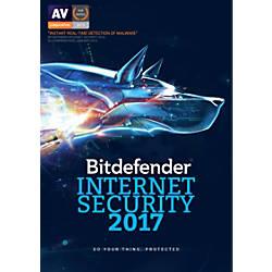BitDefender Internet Security 2017 For 1