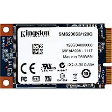 Kingston SSDNow mS200 120 GB Internal
