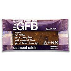 The Gluten Free Bar Oatmeal Raisin