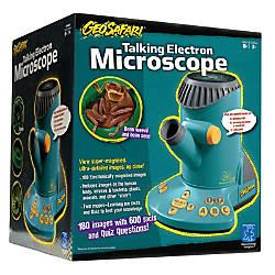 Learning Resources GeoSafari Talking Electron Microscope