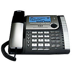 Rca 25825 8 line corded business phone with digital - Office depot customer service phone number ...