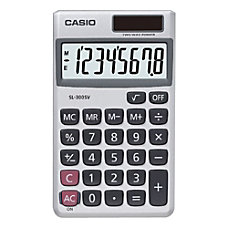 Casio SL300VCPLSIH Pocket Calculator