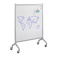 Safco Rumba Double Sided WhiteboardCollaboration Screen