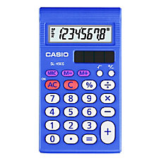 Casio SL 450 Simple Calculator Teacher