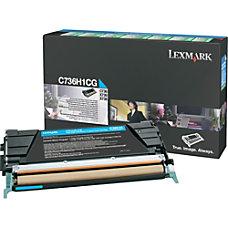 Lexmark Cyan High Yield Return Program