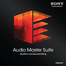 Sony Audio Master Suite Download Version