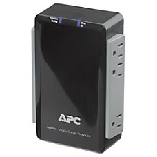 APC P6V 6 Outlets Surge Suppressor