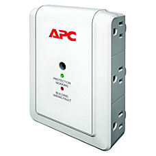 APC SurgeArrest Essential P6WT 6 Outlets