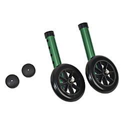 DMI Walker Wheels With Glide Cap