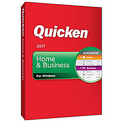 Quicken Home And Business 2017 For