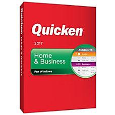 Quicken Home Business 2017 Download Version
