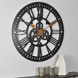 FirsTime Roman Gear Wall Clock 24