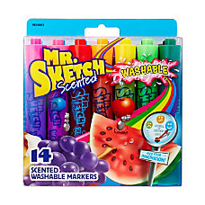 Mr Sketch Scented Markers Chisel Point