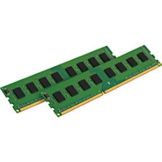 Kingston Value Ram 8GB DDR3 SDRAM