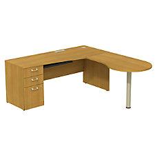 BBF Quantum Left Peninsula Desk With
