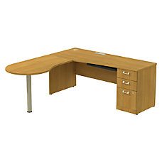 BBF Quantum Right Peninsula Desk With