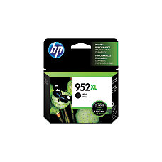 HP 952XL Black Ink Cartridge F6U19AN140