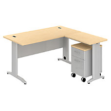 BBF Sector L Desk With Mobile