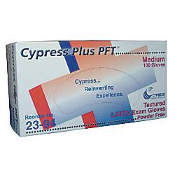 Unimed Cypress Textured Latex Examination Gloves
