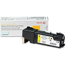 Xerox LaserJet XER106R01479 Yellow Toner Cartridge