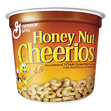 Honey Nut Cheerios Cereal In A