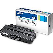 Samsung MLT D103L High Yield Black
