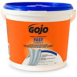 Gojo Fast Towels HandSurface Cleaner 9