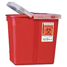 Unimed Kendall Sharps Container With Lid