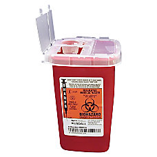 Unimed Sharps 025 Gallon Phlebotomy Container