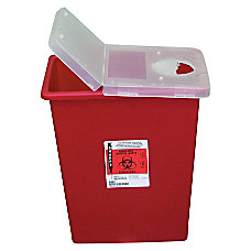 Unimed Kendall Sharps Container With Hinged